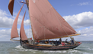 Dauntsey's sailing on Jolie Brise