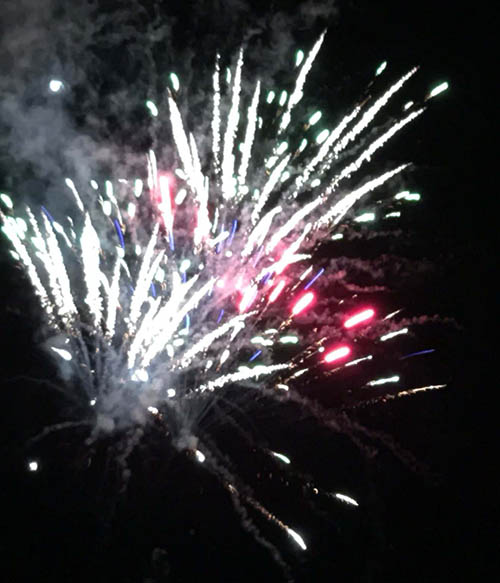 The Manor Bonfire and Fireworks Night
