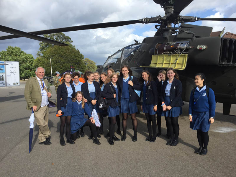 STEM Careers Showcase at Sandhurst