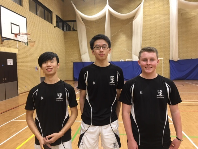 Autumn Term 2018 Table Tennis News
