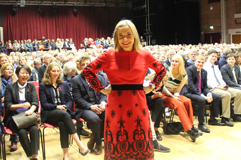 Mercers' Lecture Review: Lucy Worsley