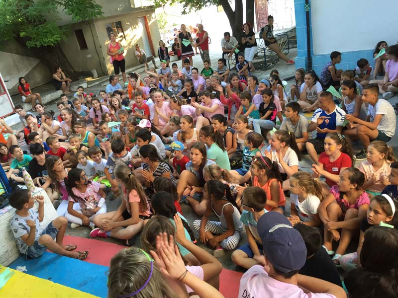 The Nightingales Children's Project in Romania
