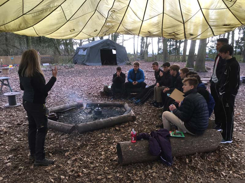 Lower Sixth DT Trip to Saplings Forest School