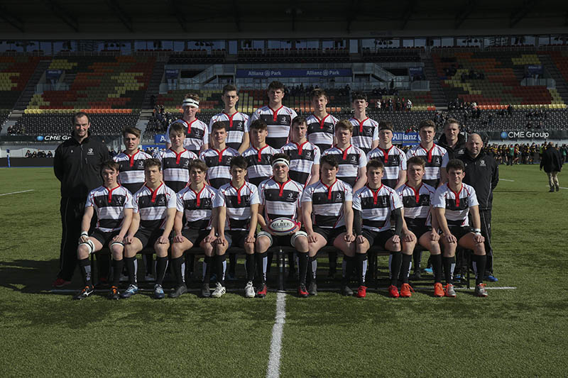 1st XV Rugby Team Win National Vase Semi-Final at Allianz Park