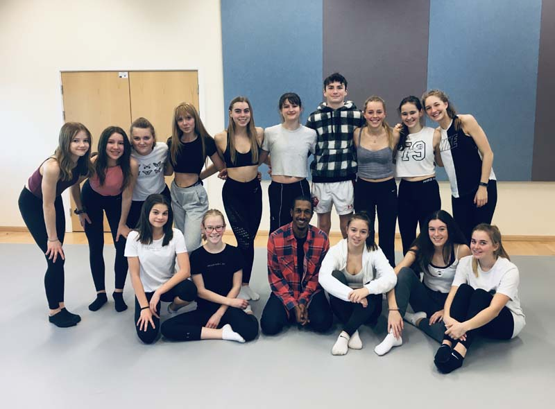 Richard Alston Dance Workshop