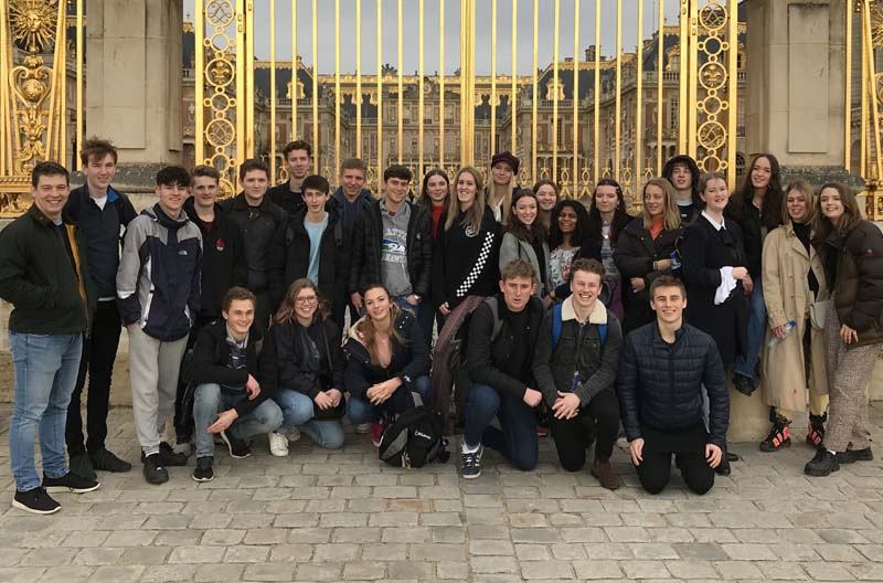Upper Sixth History Trip to Paris 2020
