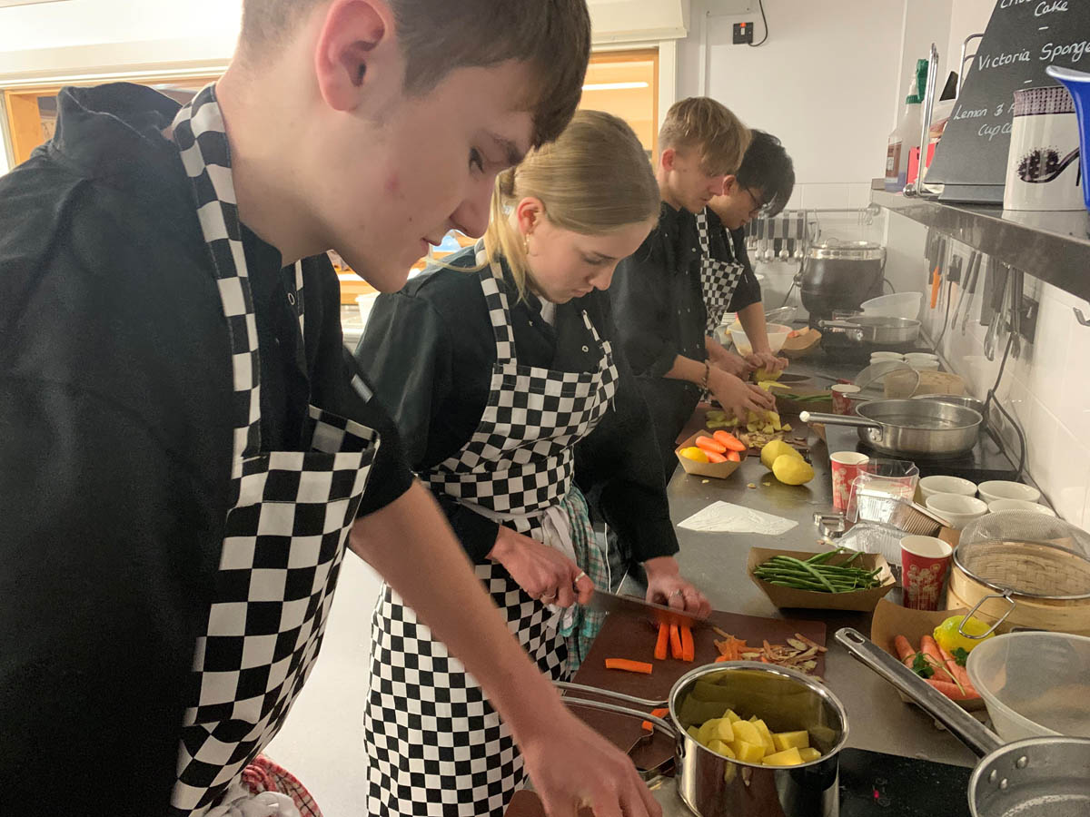 Sixth Form Pupils Complete Level 2 Award in Culinary Skills