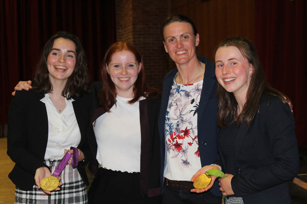 Mercers' Lecture Review: Heather Stanning OBE