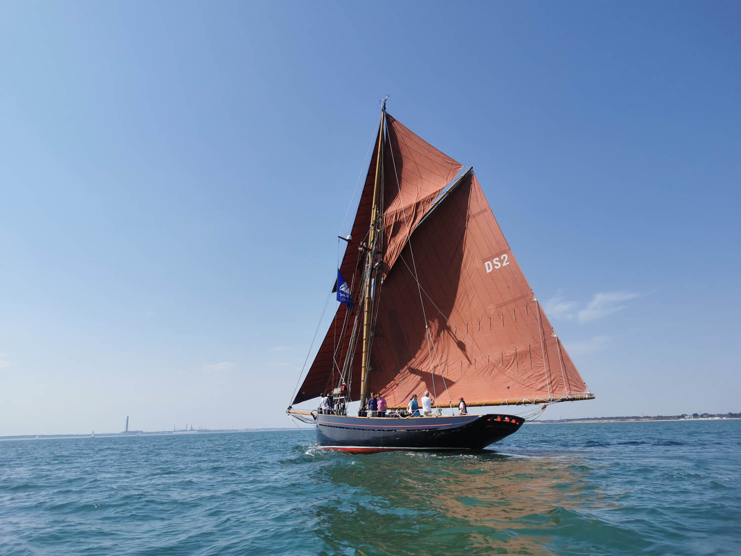 Summer Sailing on the Jolie Brise