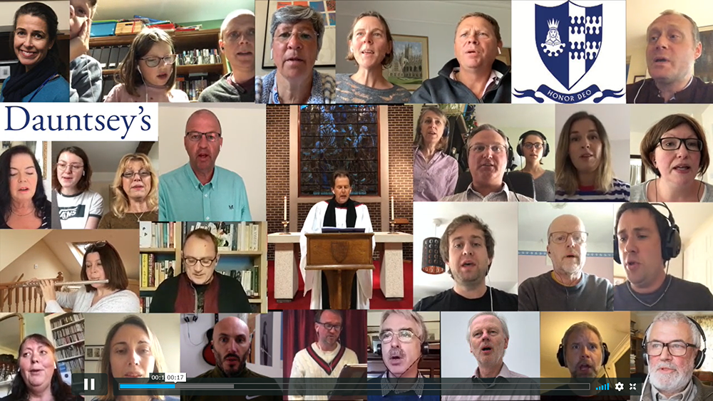 Staff Voices: Guide Me O Thou Great Redeemer