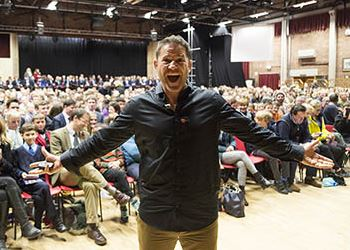 Steve Backshall's at Dauntsey's
