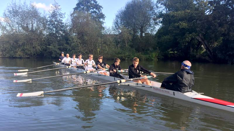 Rowing at Dauntsey's