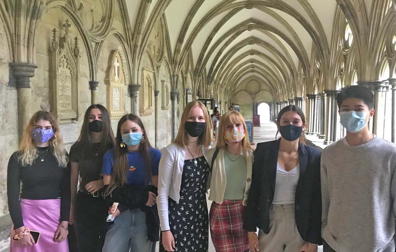 Lower Sixth History of Art Trip to Salisbury Cathedral