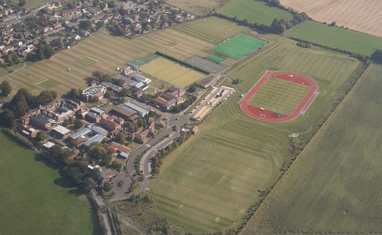 Dauntsey's from 1500ft